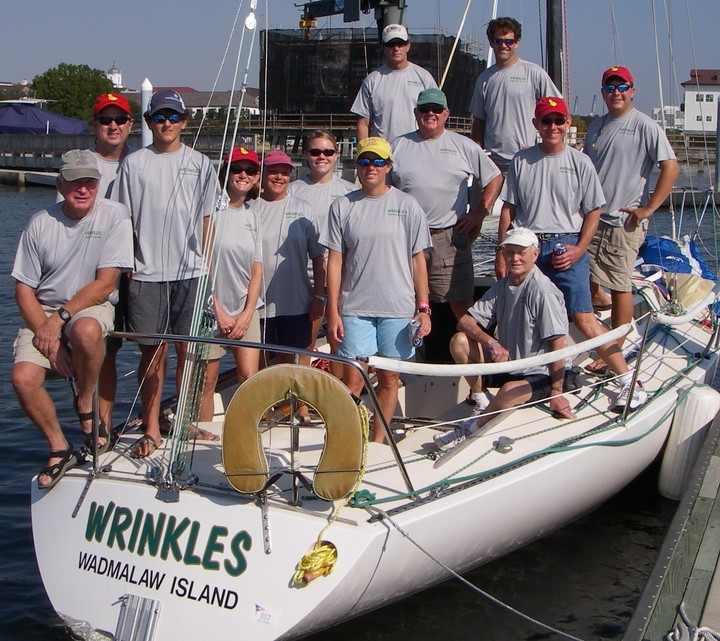 Team Wrinkles Leukemia Cup 2008 T-Shirt Photo