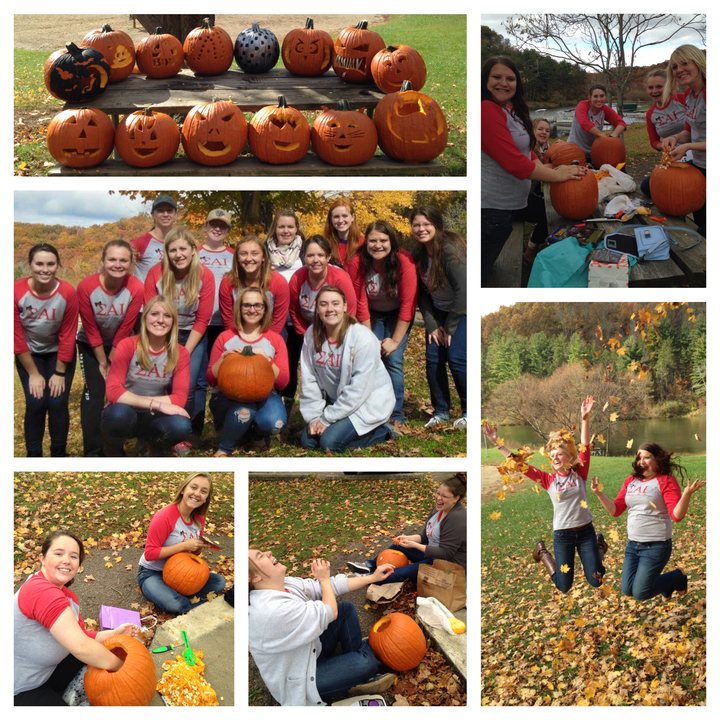 Ohio University 2015 Sai Pumpkin Carving T-Shirt Photo