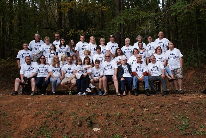 Howell Family Descendants 2015 T-Shirt Photo