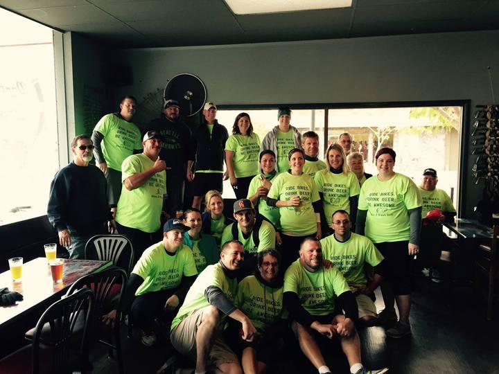 Bikes & Brews 2015 T-Shirt Photo