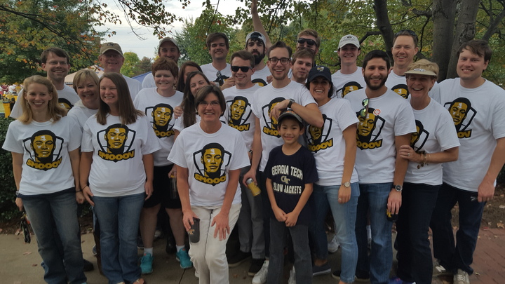 Georgia Tech Homecoming With Smooov T-Shirt Photo