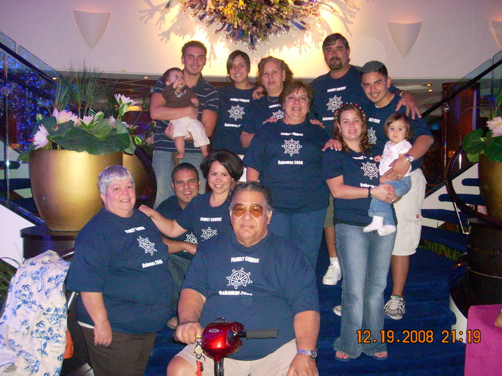 Family Cruise 2008 T-Shirt Photo
