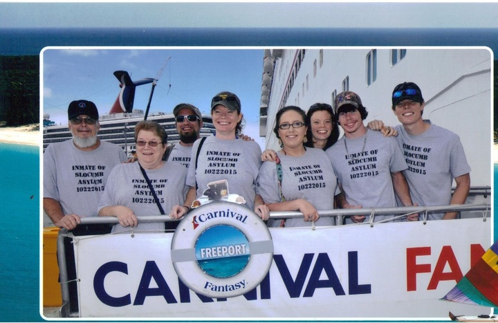 Slocumb Family Cruise 2015 T-Shirt Photo