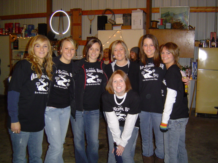 The Hotties Of Old School Bash 5 T-Shirt Photo