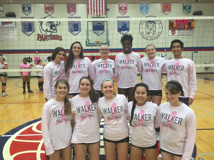 Maggie Walker Digs Pink T-Shirt Photo