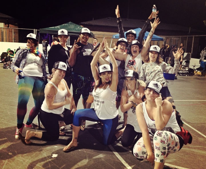 2015 Escape To The Coast Roller Derby Tournament, First Place Winners T-Shirt Photo
