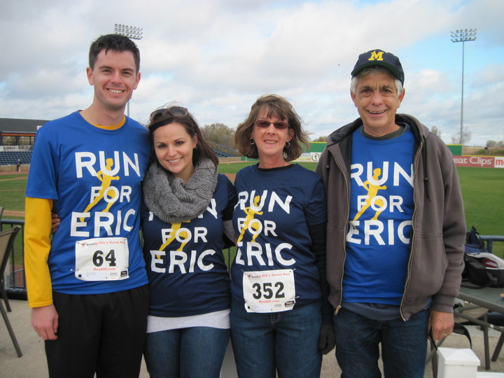 Run For Eric T-Shirt Photo