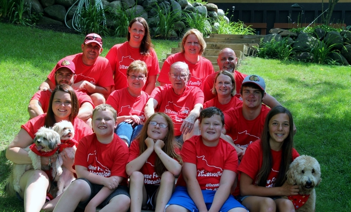 Vitense Family Vacation 2015 T-Shirt Photo