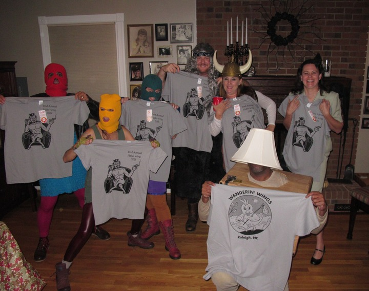 Second Annual Hallo Wing T-Shirt Photo
