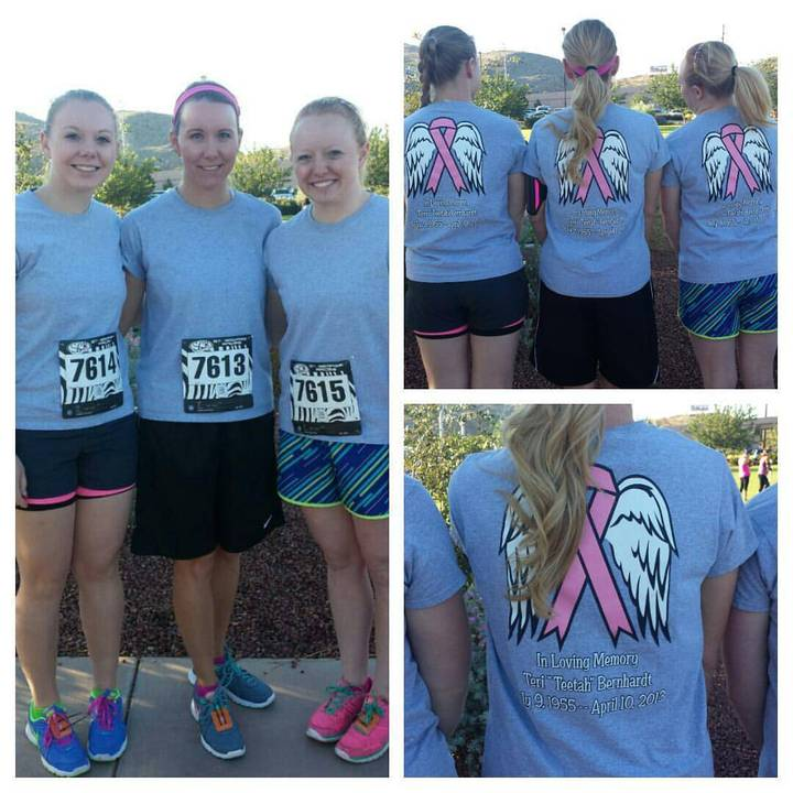 Save A Sister 5k In Honor Of Teetah T-Shirt Photo