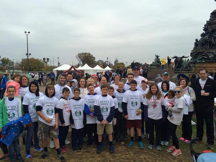 Peter's Posse At The Jdrf One Walk T-Shirt Photo