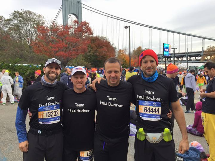 Nyc Marathon 11/1/15 T-Shirt Photo