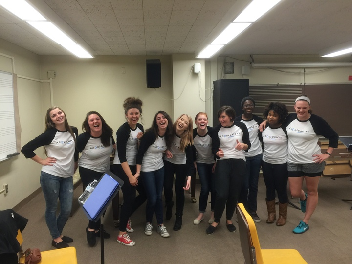 Acous Chicks Acapella  T-Shirt Photo