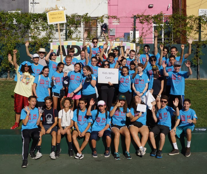 Aids Walk La: Milken Kids Who Care T-Shirt Photo
