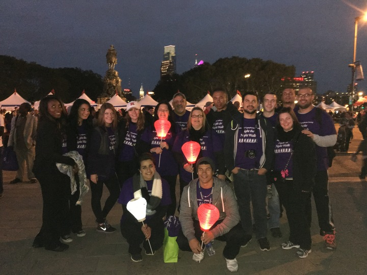 Light The Night   Leukemia And Lymphoma Walk T-Shirt Photo