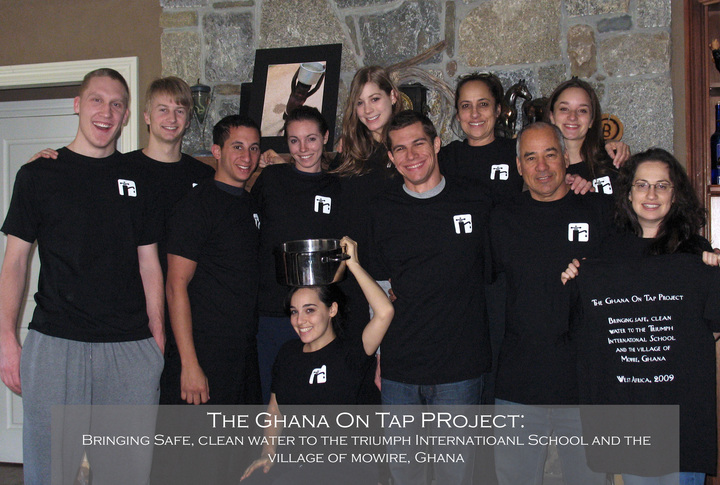 The Ghana On Tap Team!! T-Shirt Photo