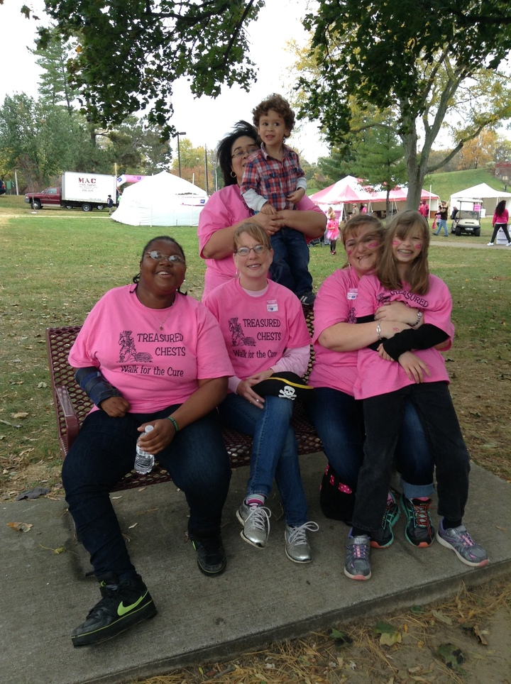 Treasured Chests Walk For The Cure T-Shirt Photo