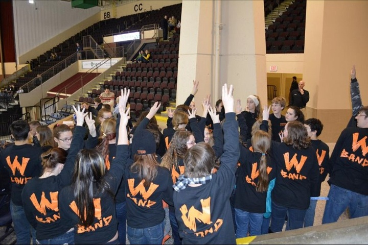 Winslow Band Rocks The W T-Shirt Photo