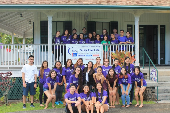Relay For Life Of Uh Manoa T-Shirt Photo