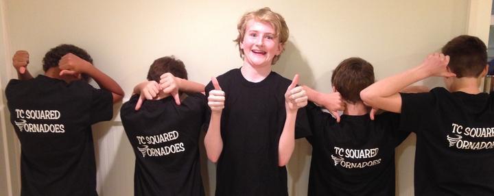 Tc Squared Tornadoes Rock! T-Shirt Photo