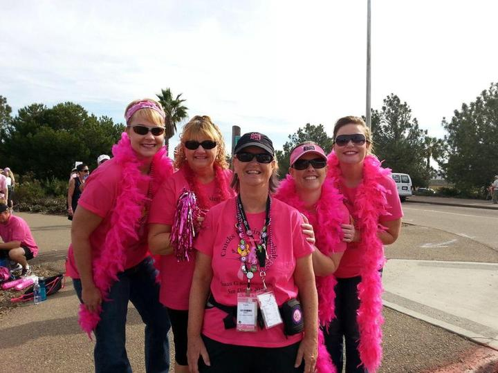 San Diego Breast Cancer 3 Day Walk T-Shirt Photo