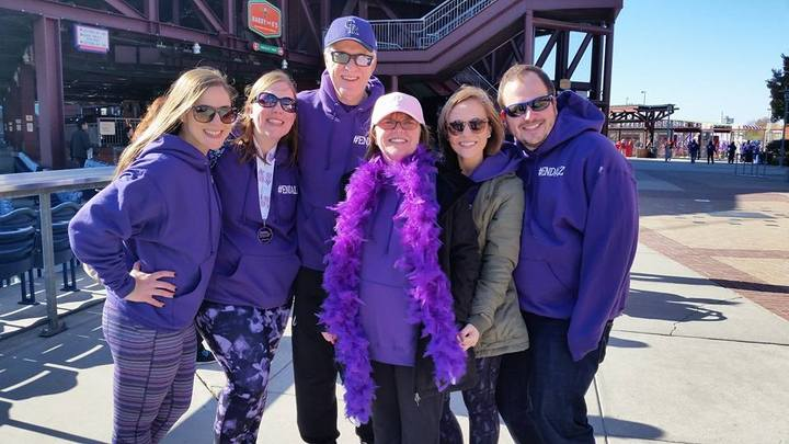 Kathy's Krew At The Walk To End Alzheimer's! T-Shirt Photo