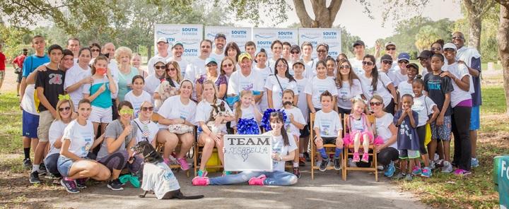 Team Isabella  South Florida Hydrocephalus Walk T-Shirt Photo
