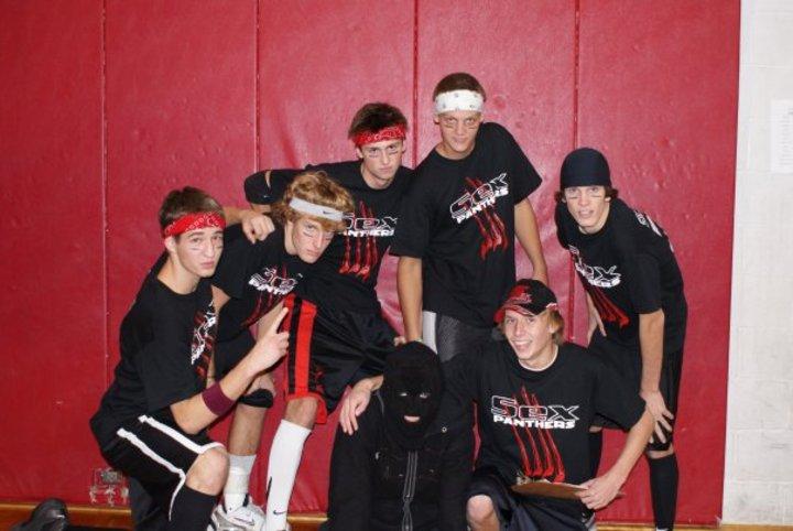 Dodgeball Team   Sex Panthers T-Shirt Photo