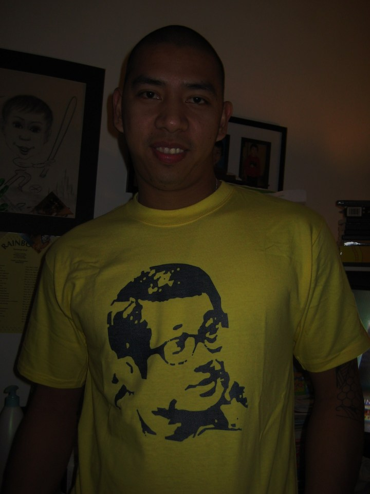 John And Ninoy Hero T-Shirt Photo