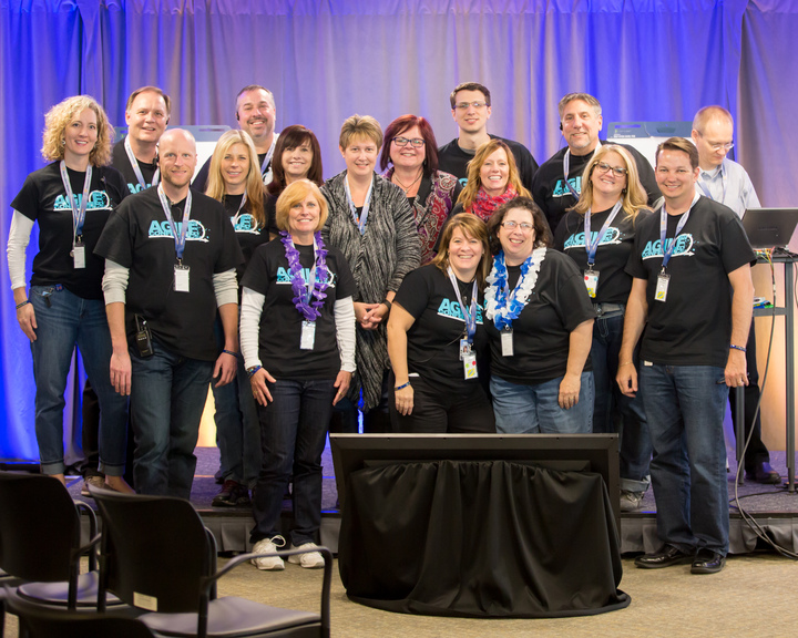 Volunteers For The 2015 Nm Agile Conference T-Shirt Photo
