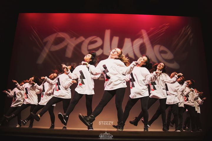 Phi Nix Dance Crew Onstage At Prelude Midwest 2015 T-Shirt Photo