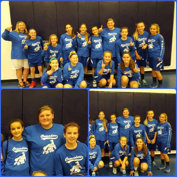 Varsity Girls Basketball Team T-Shirt Photo