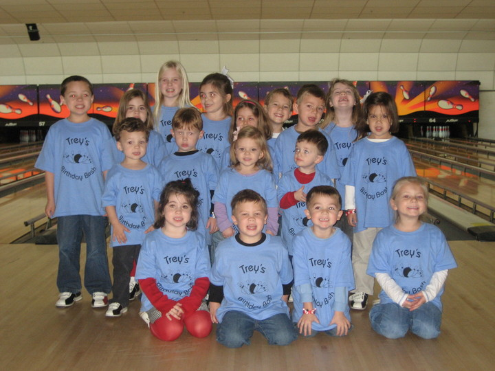 Trey's Birthday Bowling Bash T-Shirt Photo