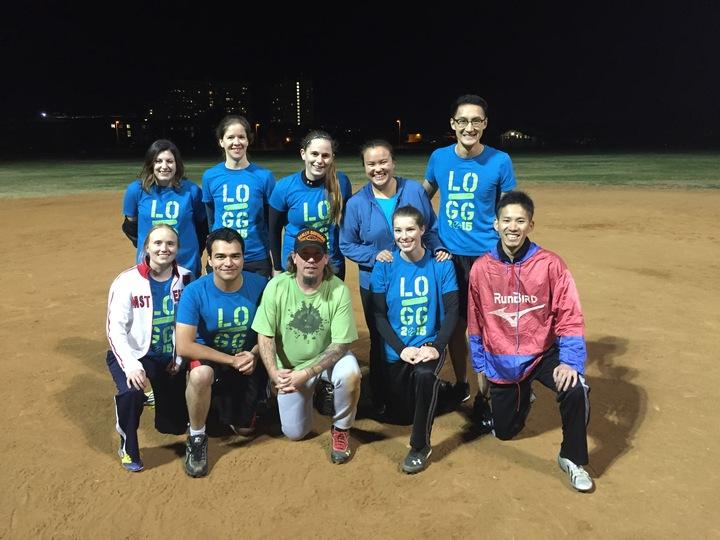 L O Double G Softball T-Shirt Photo
