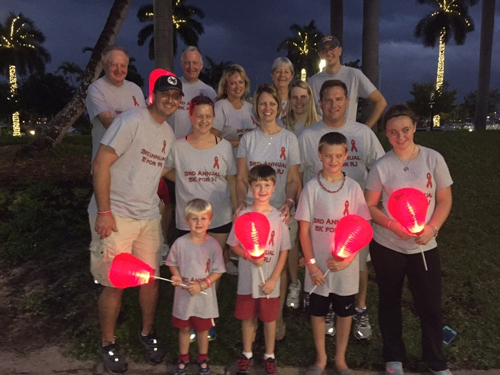 5 K For Rj Light The Night Walk T-Shirt Photo