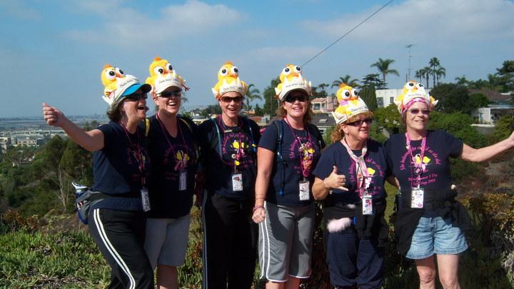 Team Chicks Kickin' Asphalt T-Shirt Photo