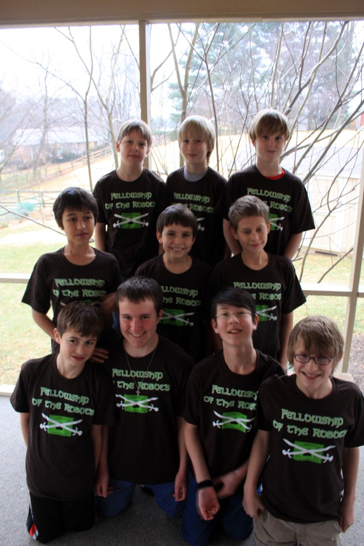 The Fellowship Of The Robots T-Shirt Photo
