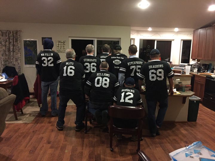 Fantasy Football Jerseys T-Shirt Photo