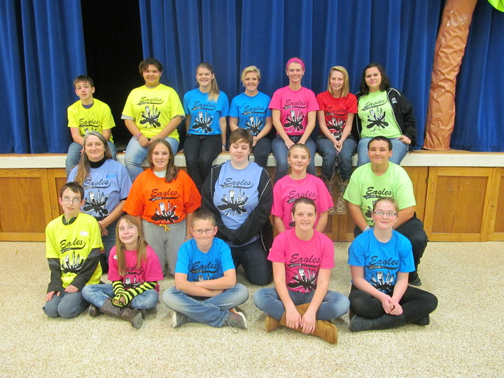 East Union Eagles Art Club Members T-Shirt Photo