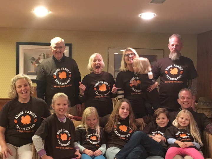 Thanksgiving With Family!  T-Shirt Photo