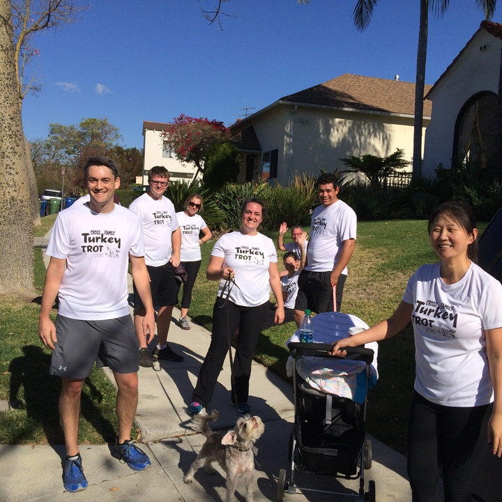 Another Successful Turkey Trot  T-Shirt Photo