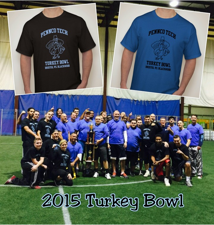 Turkey And Football T-Shirt Photo