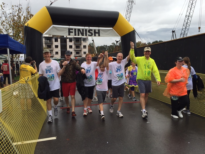 Team Hatcher Walks To Support Lung Cancer Initiative Of North Carolina T-Shirt Photo