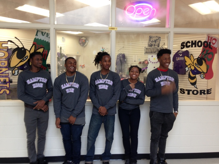 Hampton High School Store T-Shirt Photo