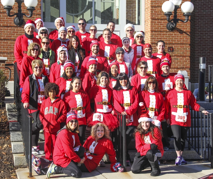 Norcom Mortgage Participates In Mitten Run T-Shirt Photo