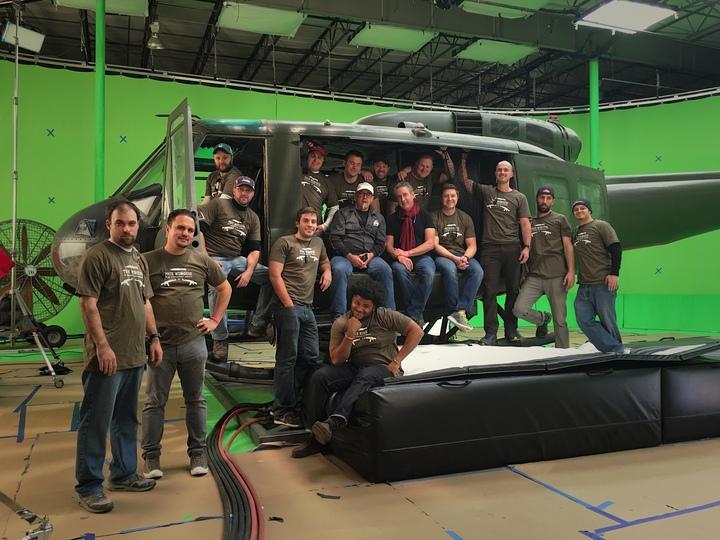 Movie Crew Photo  T-Shirt Photo