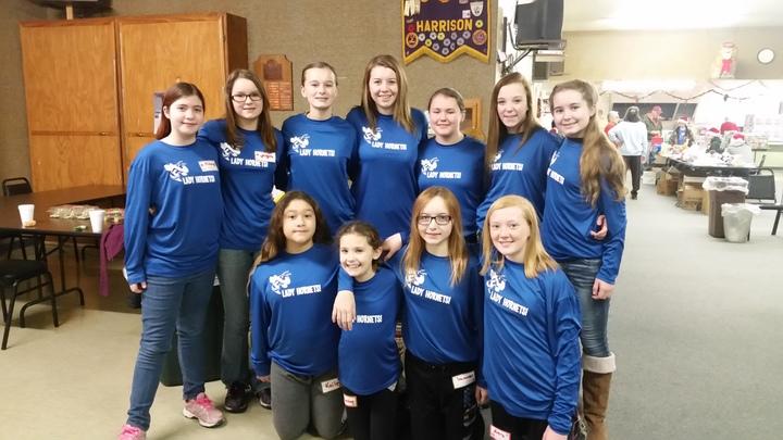 Hms Lady Hornets Give Back T-Shirt Photo