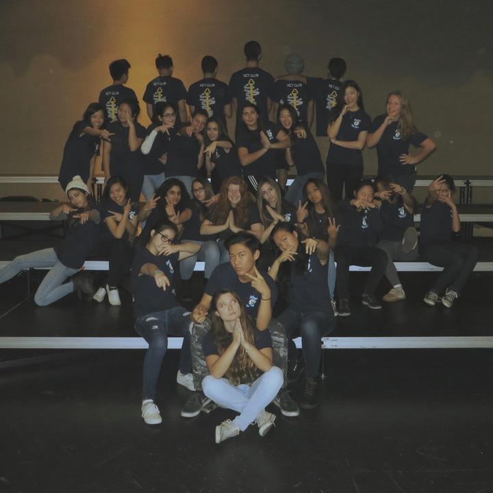 Burbank High School Key Club 2015 2016 T-Shirt Photo