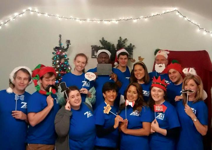 7ci Elves Serve Up Some Christmas Spirit T-Shirt Photo