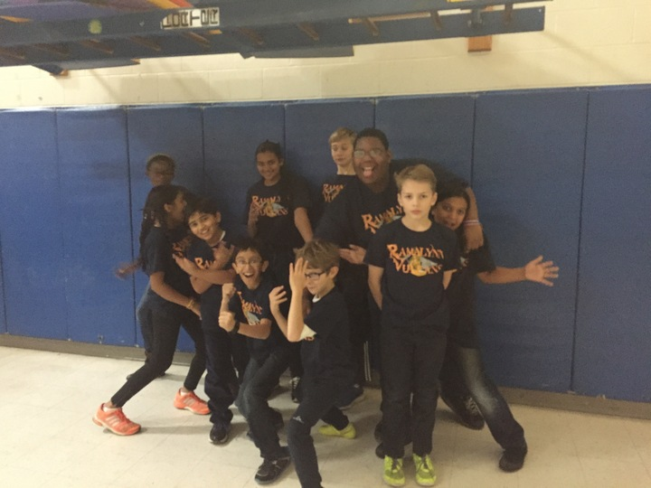 Ramalynn Vulcans Lego League Team T-Shirt Photo